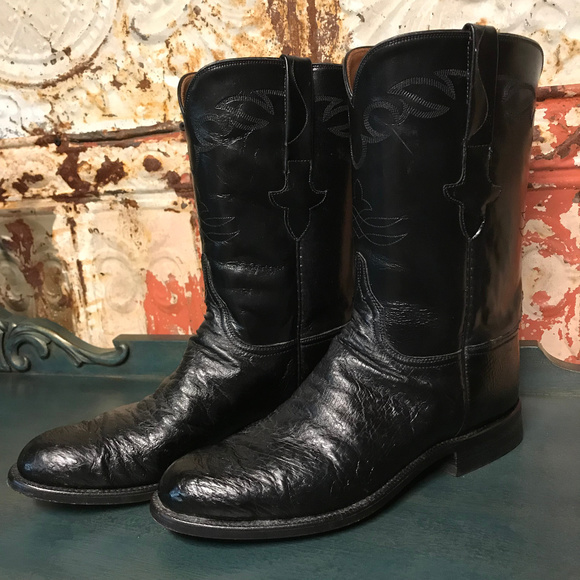 a36a470bfc8 Lucchese Full Quill Ostrich Exotic Boots [134]